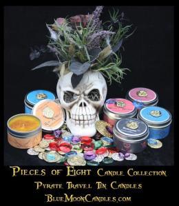 Pieces of EightCandles