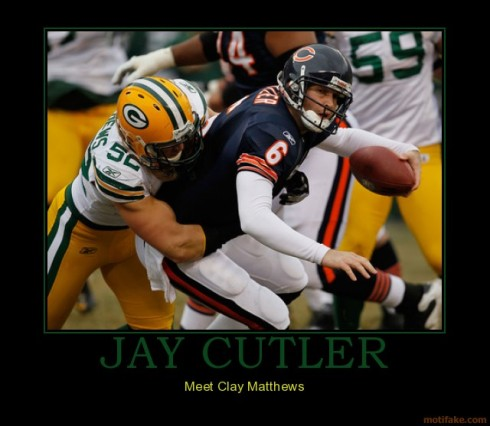 Who is my favorite player? Clay Matthews #52 of course. Why you ask ...